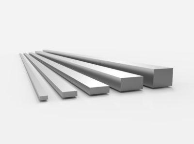 Aluminium Flachstangen (AlMgSi1 – 6082)