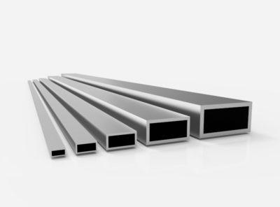 Aluminium Rechteckrohre (AlMgSi0,5 – 6060)