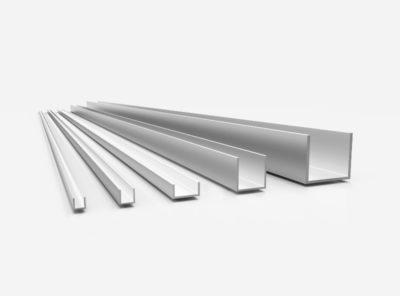 Aluminium U-Profile (AlMgSi0,5 – 6060)