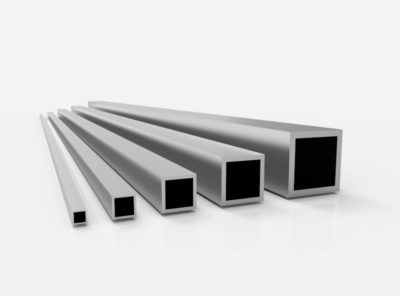Aluminium Vierkantrohre (AlMgSi0,5 – 6060)